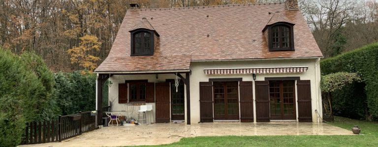 démoussage 91 nettoyage toiture 91 robert couvreur 91 maison nettoyée 91